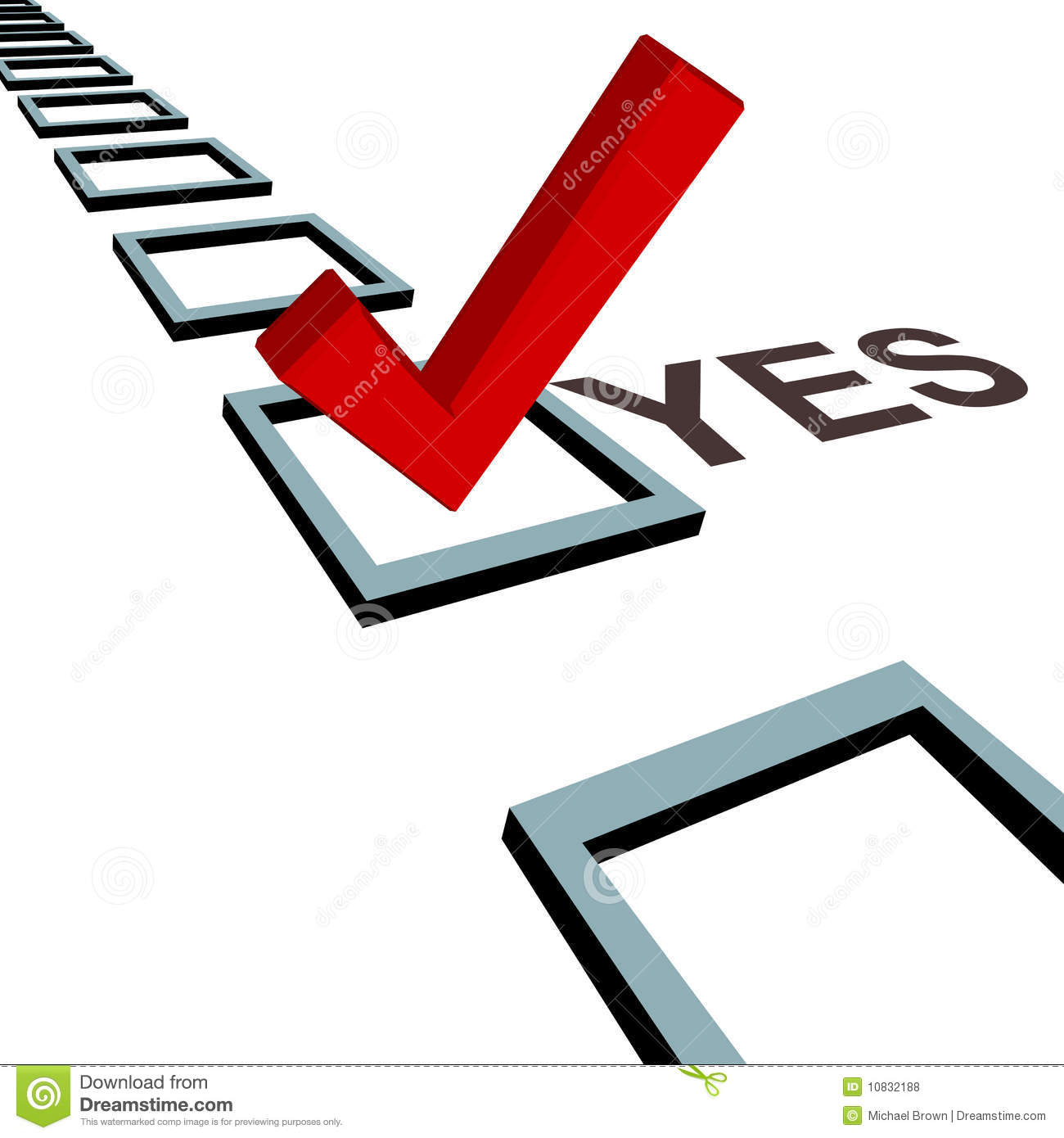 free clipart vote yes - photo #16