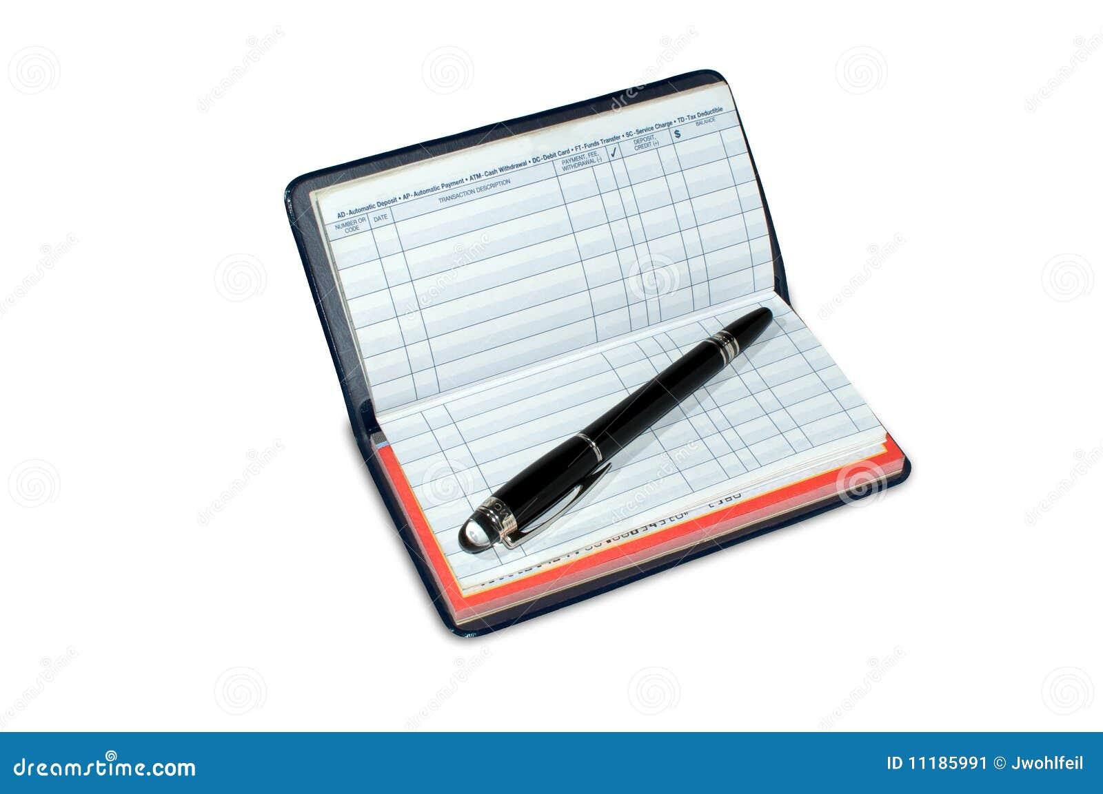 blank checkbook register stock photo image of register 3781218