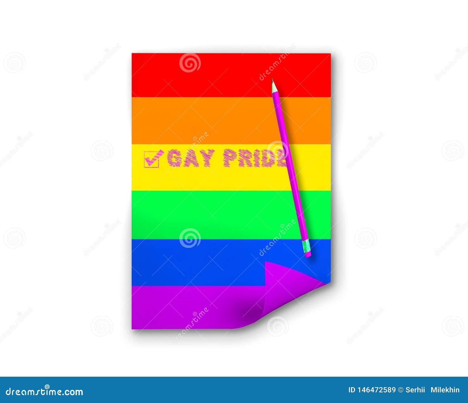 Purple color gay movement