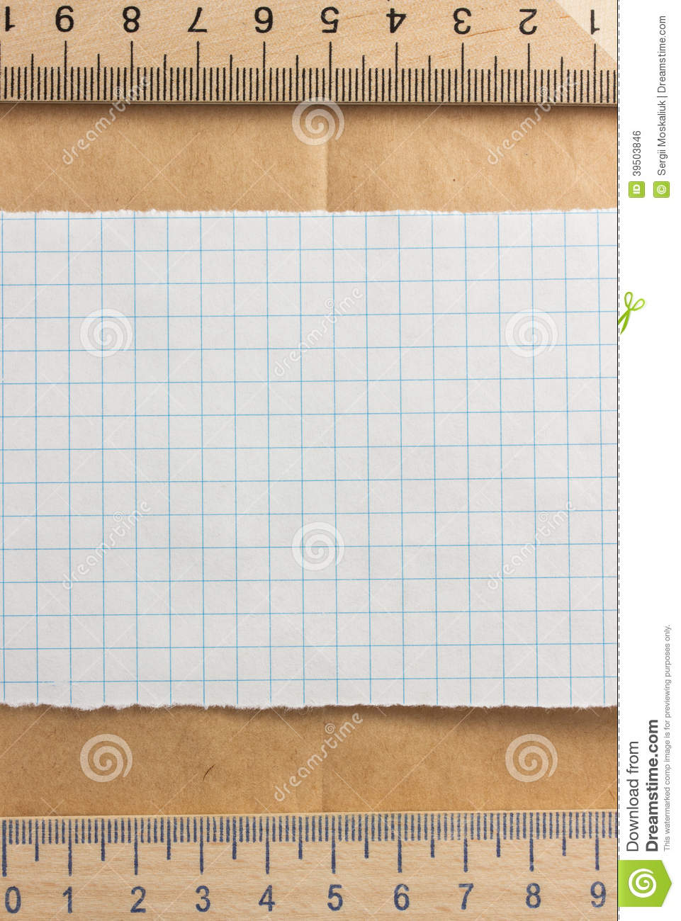 Checked paper