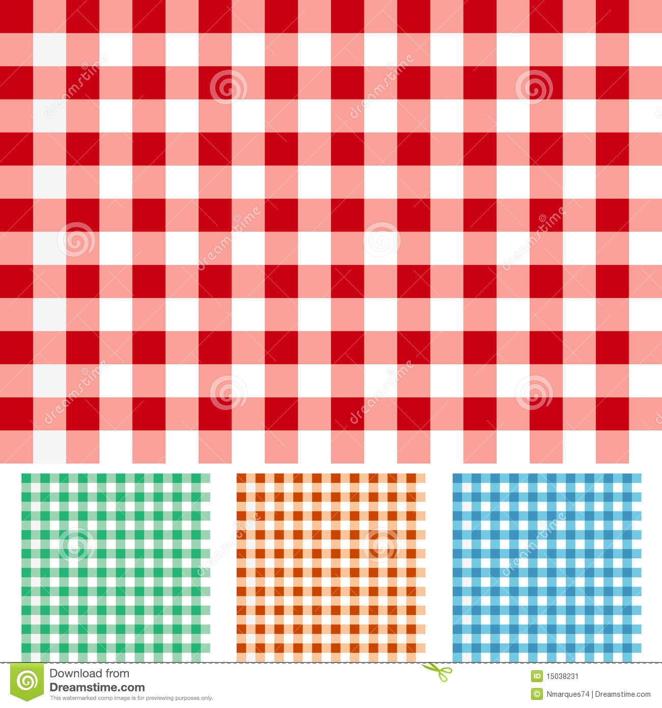 Checker Patterns Stock Vector Image Of Cloth Cover