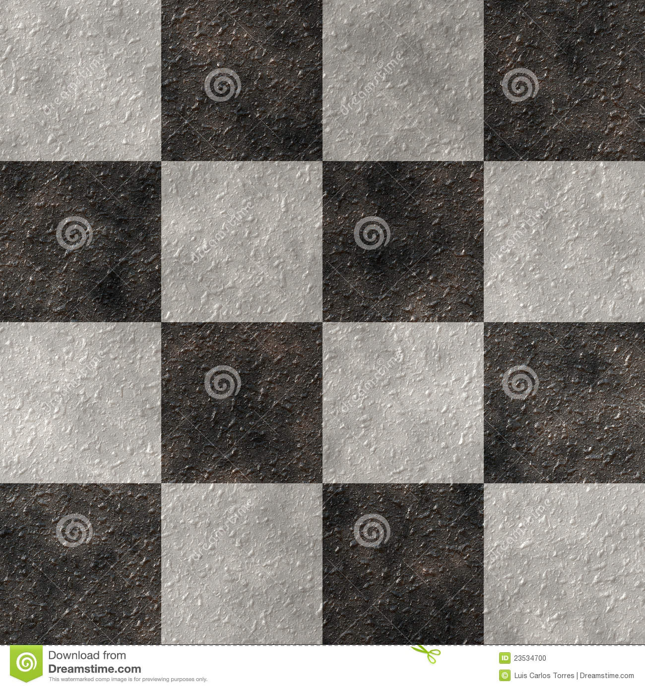 Checker Stone Seamless Texture Stock Photo Image 23534700