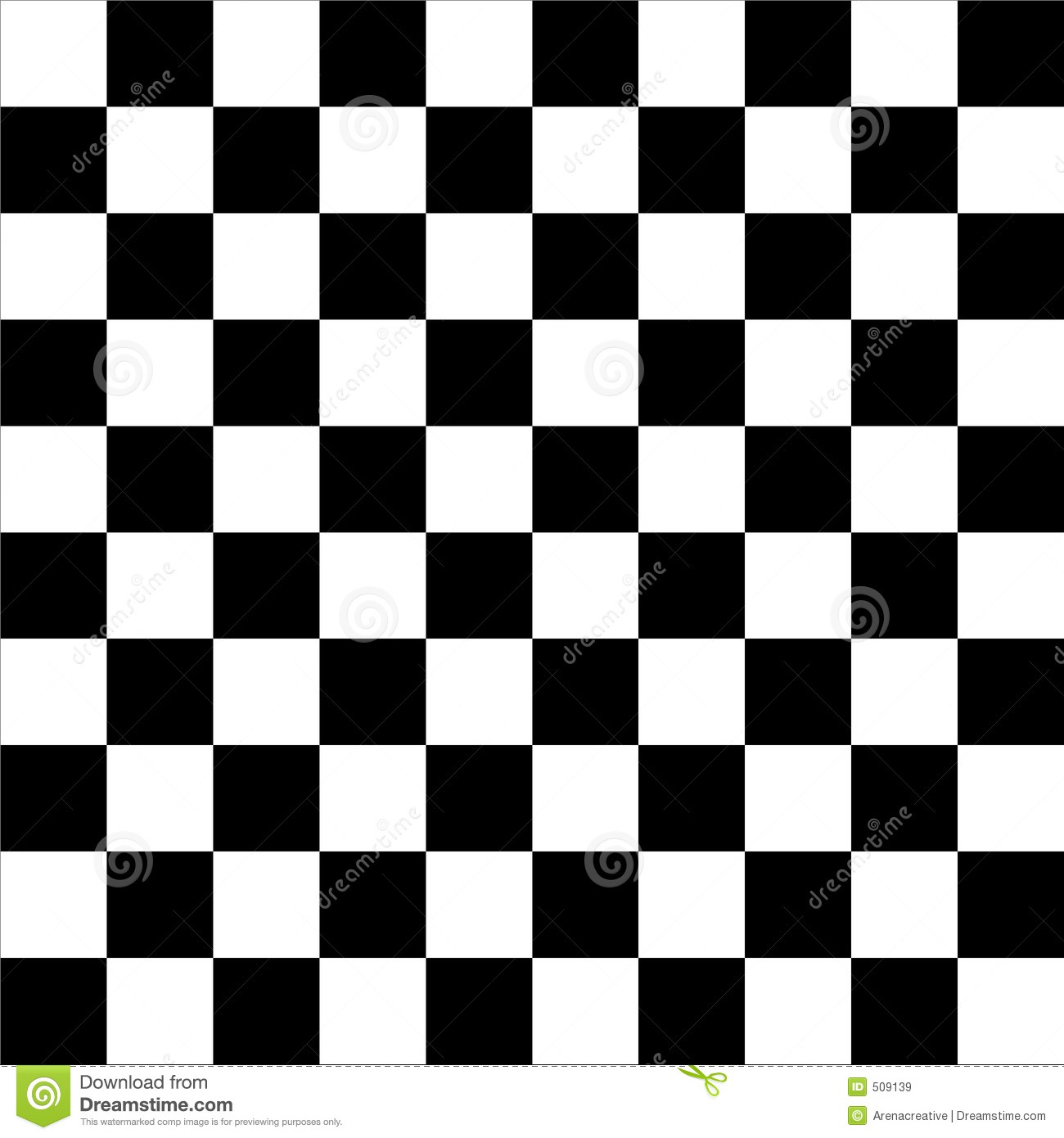Checkerboard Chess Background Stock Illustration