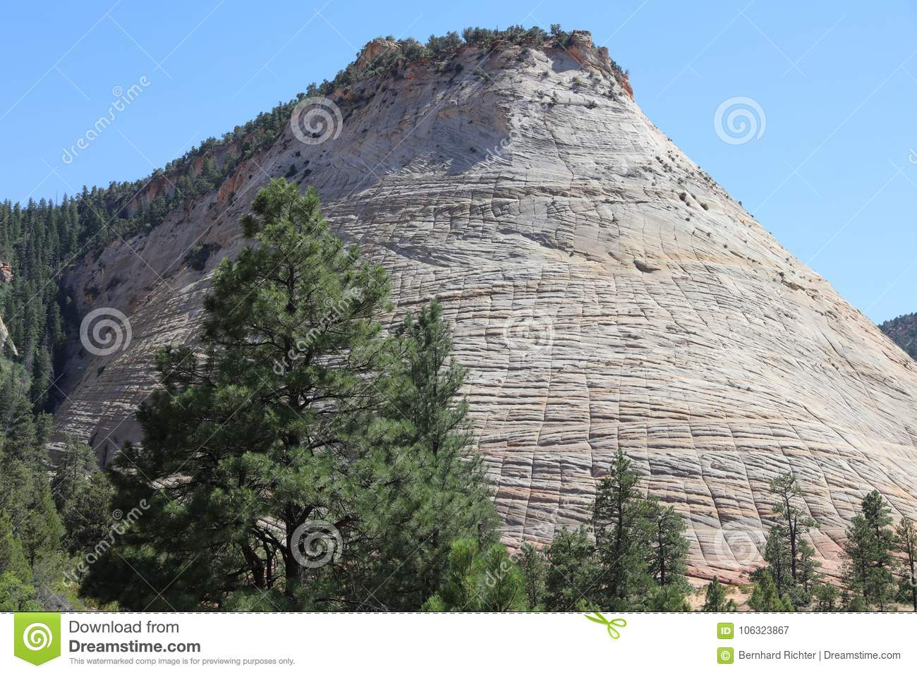 checkerboard mesa zion national park utah constructive or destructive