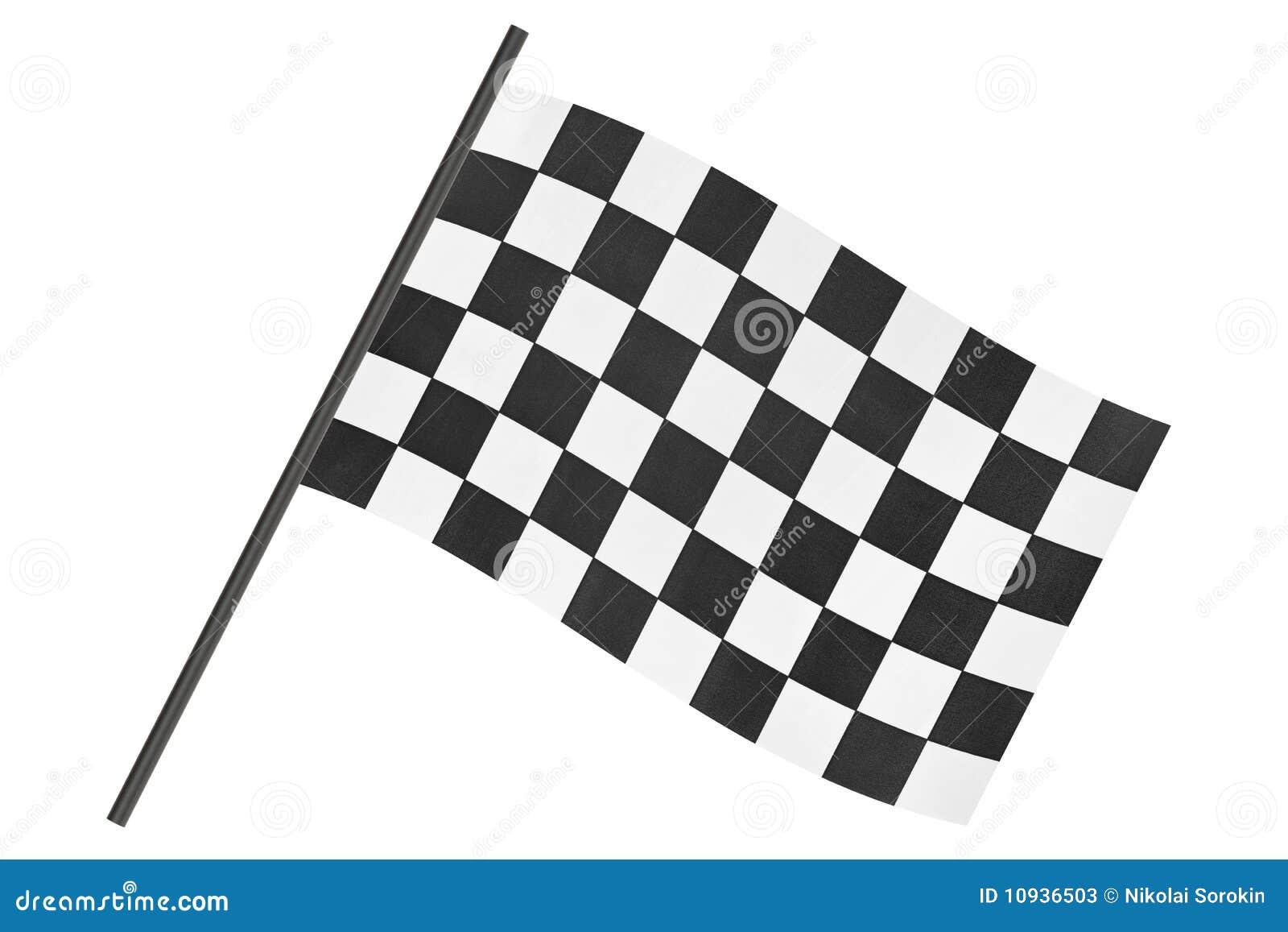 Checkered флаг отделки