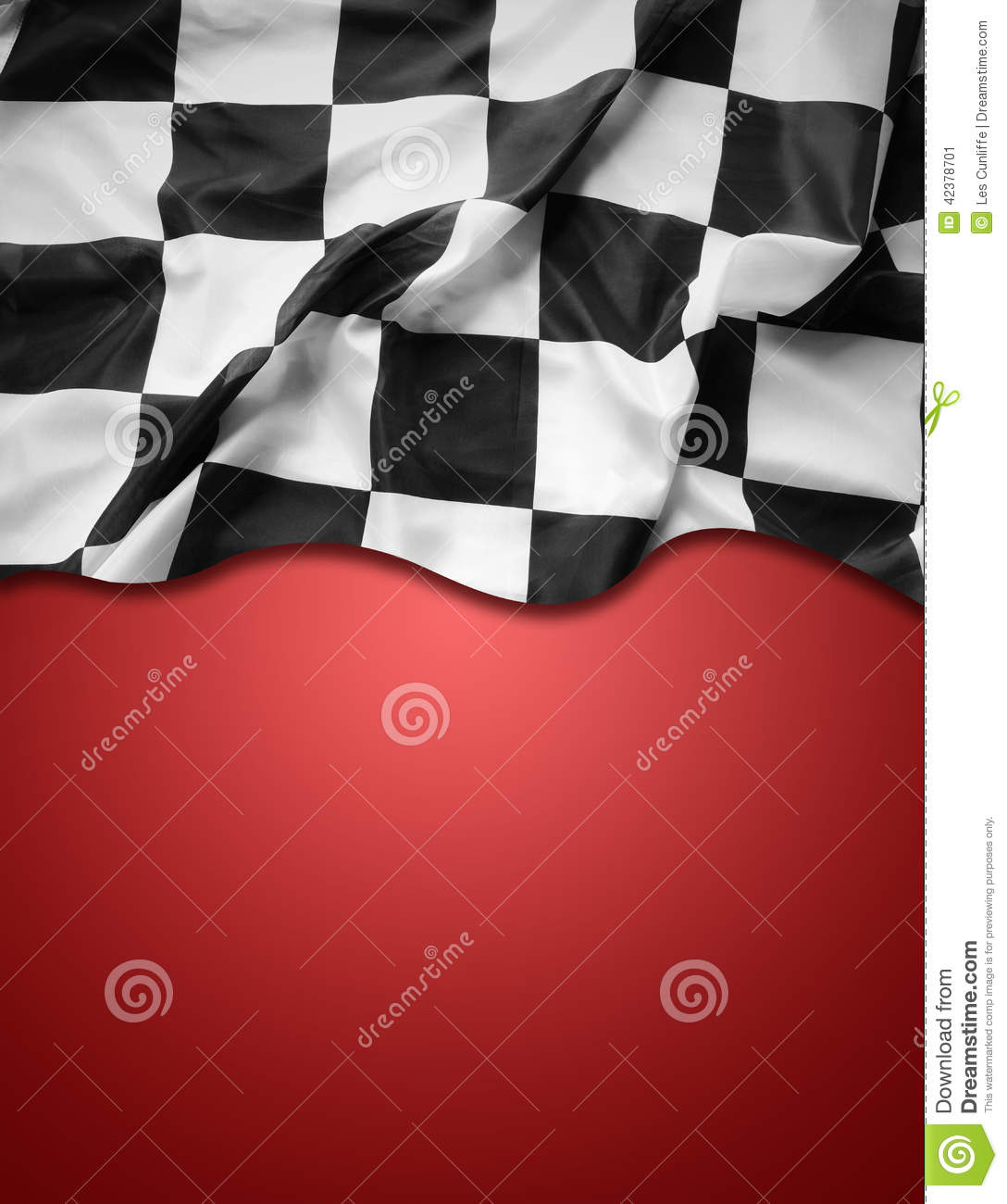 Checkered Flag Stock Photo - Image: 42378701