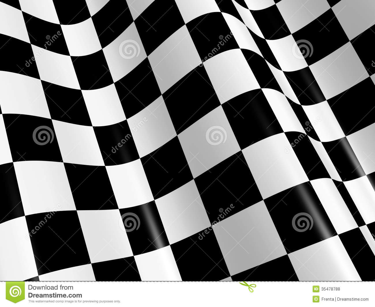 Abstract Sports Background Royalty Free Stock Image: Checkered Flag Royalty Free Stock Photos