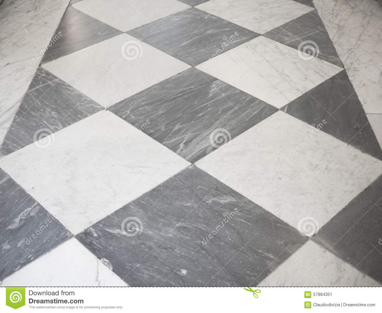 Checkered Floor Stock Image Image Of Marble Landmark