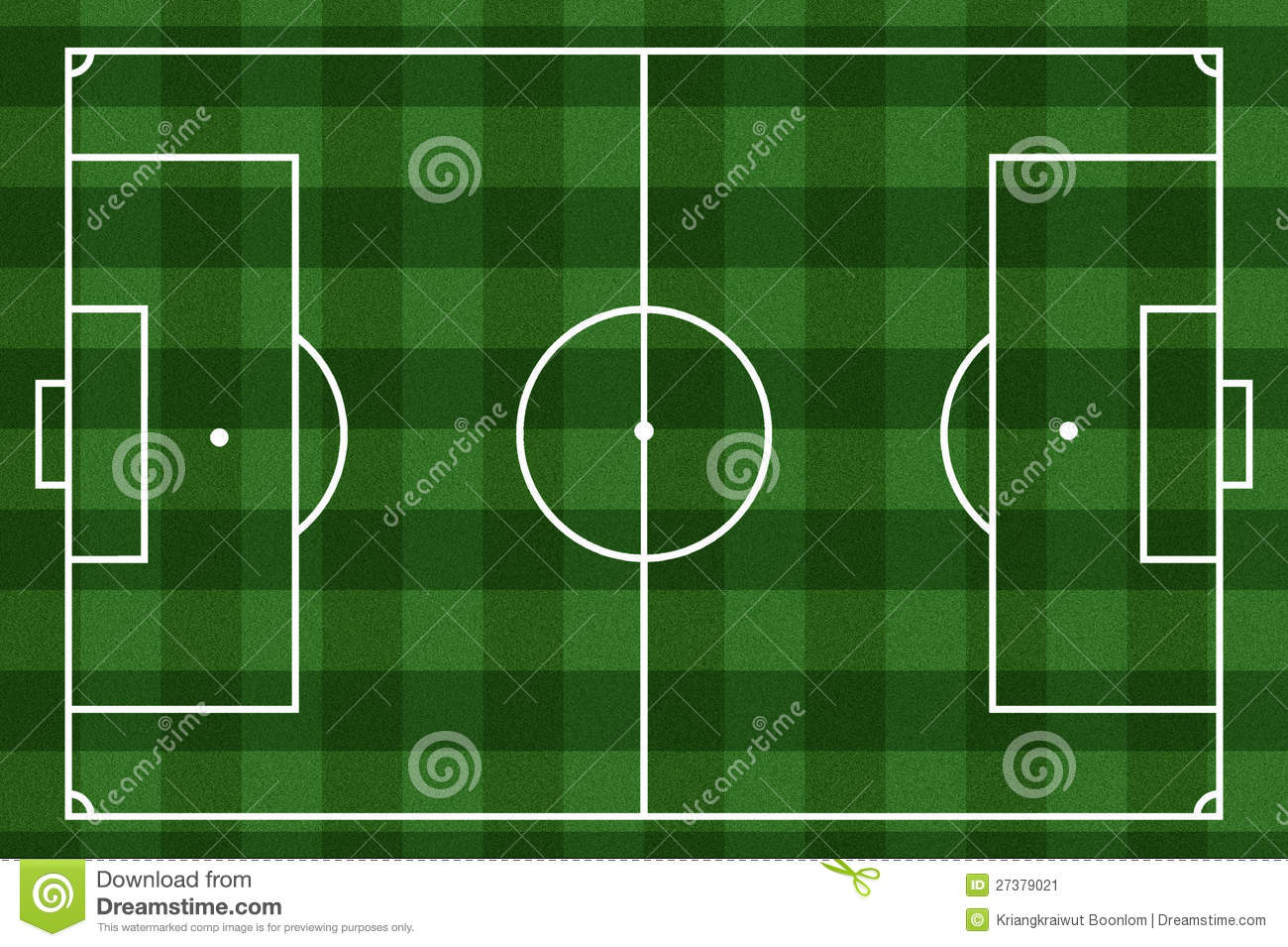 Checkered Football Field Background Stock Image - Image: 27379021