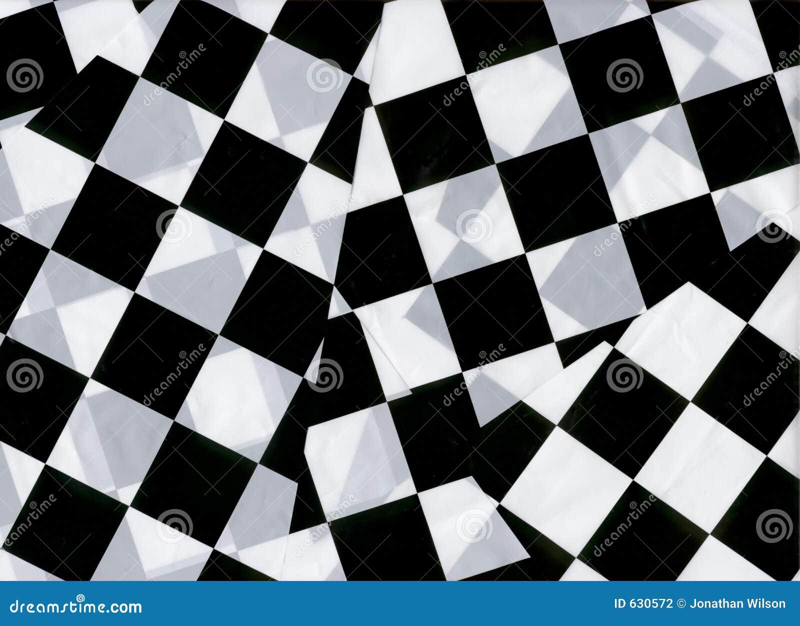 Checkered Markierungsfahnen