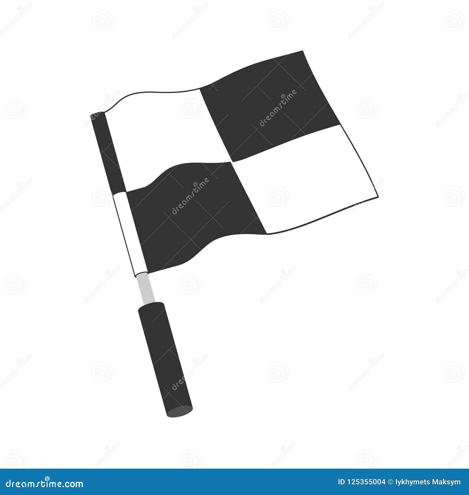 Checkered Racing Flag Icon Starting Flag Auto And Moto Racing
