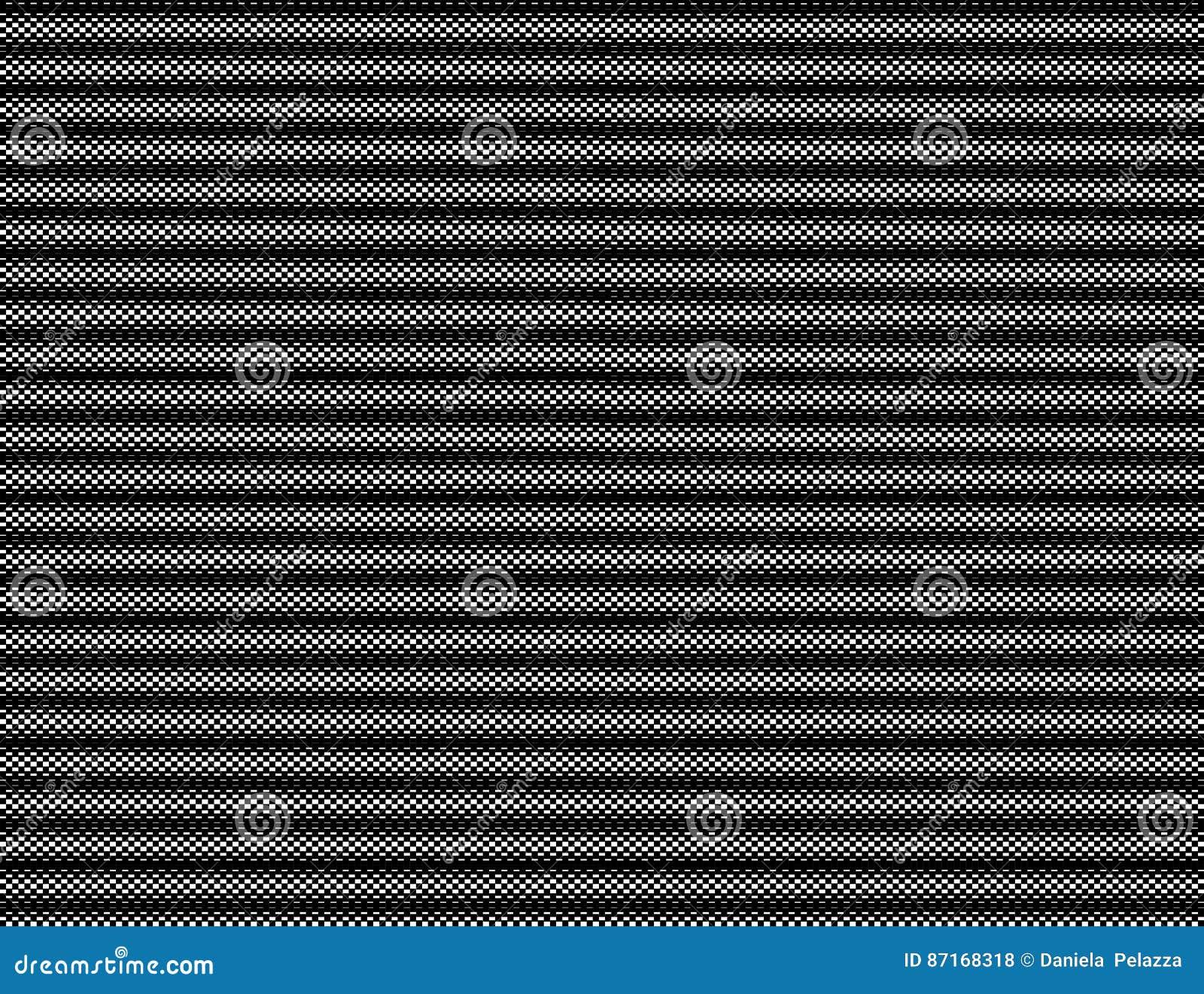 Checkered Schwarzweiss-Hintergrund