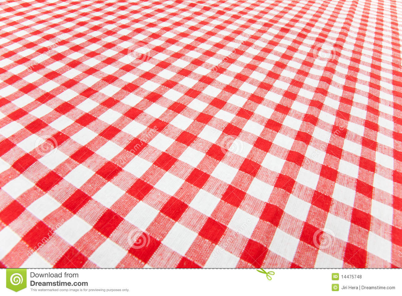 Checkered Tablecloth ...