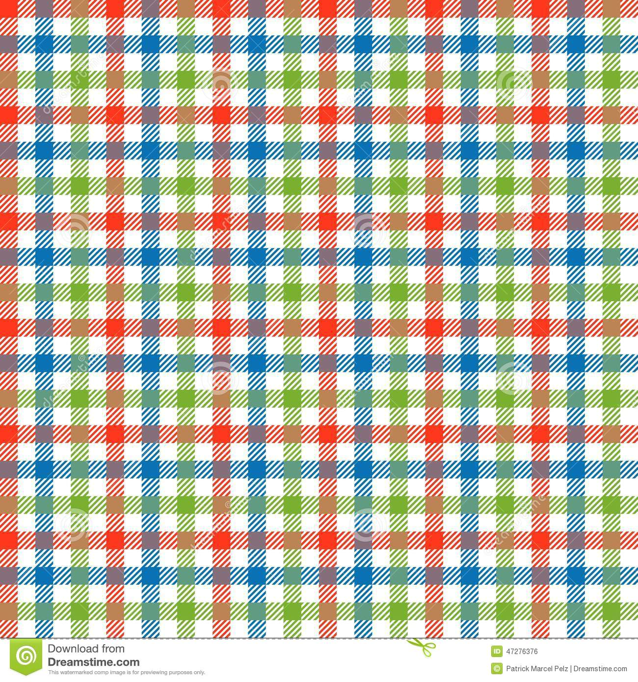 Checkered Tablecloths Pattern Colorful - Endlessly Stock ...
