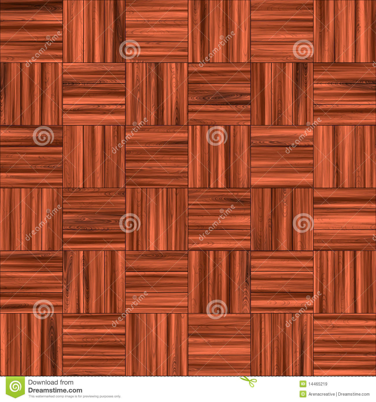 Checkered Wooden Floor Stock Illustration Image Of Cherry