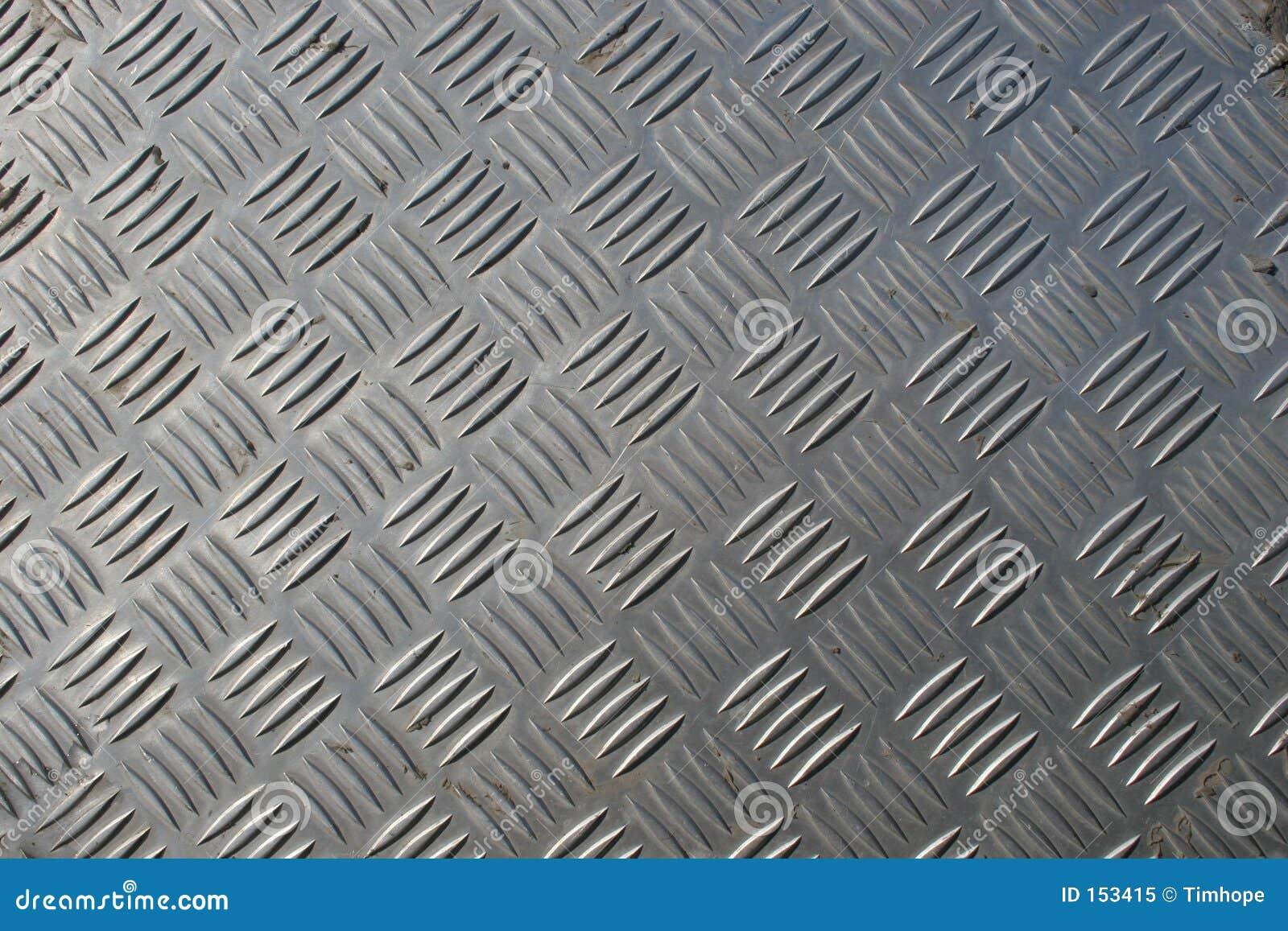 Checkerplate ze stali nierdzewnej