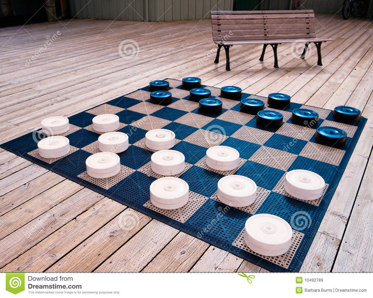 Checkers Anyone? Royalty Free Stock Images - Image: 10492789