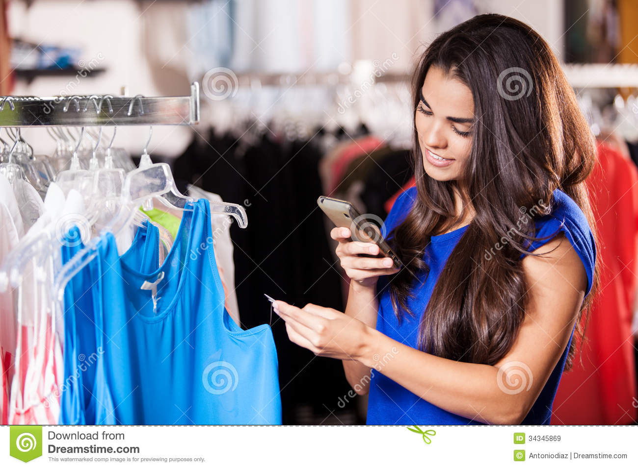 Clothing stores online. Pretty woman clothing store