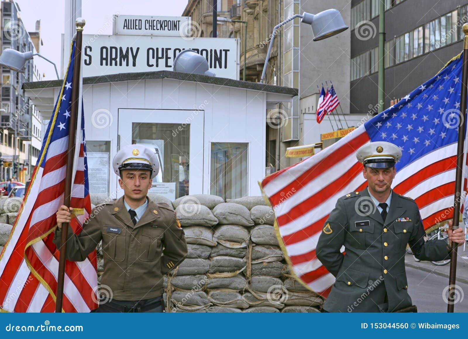 Checkpoint Charlie i Berlin; Tyskland
