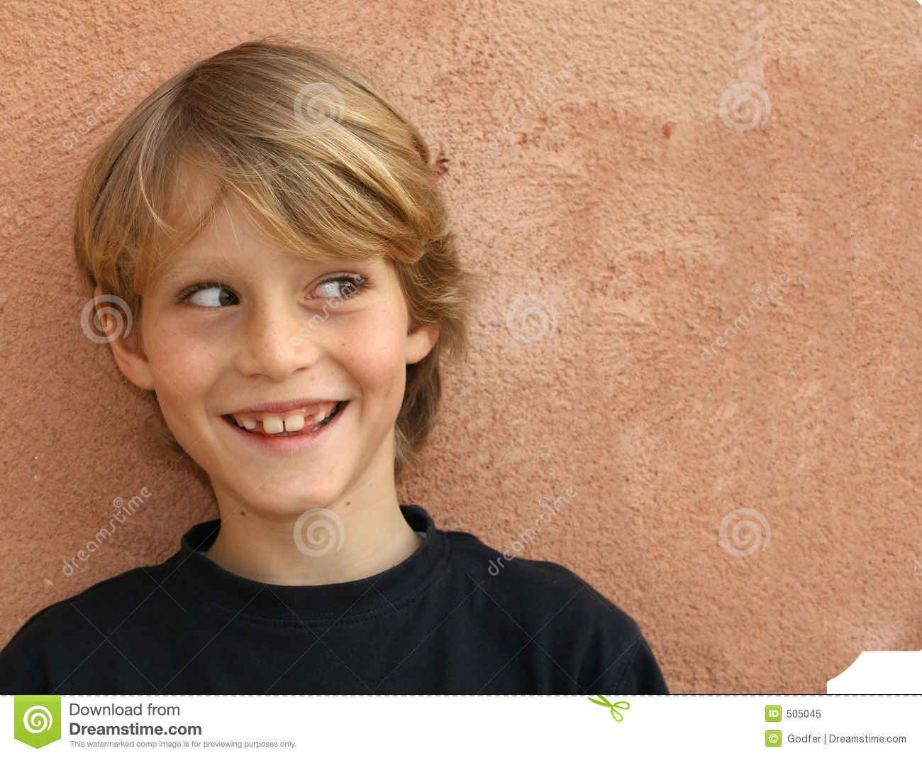 Cheeky child face stock image. Image of smile, young ...