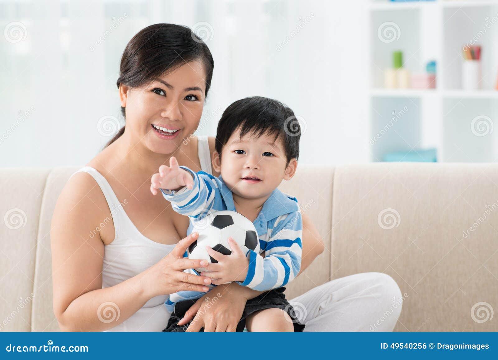 Mother fuck son asian