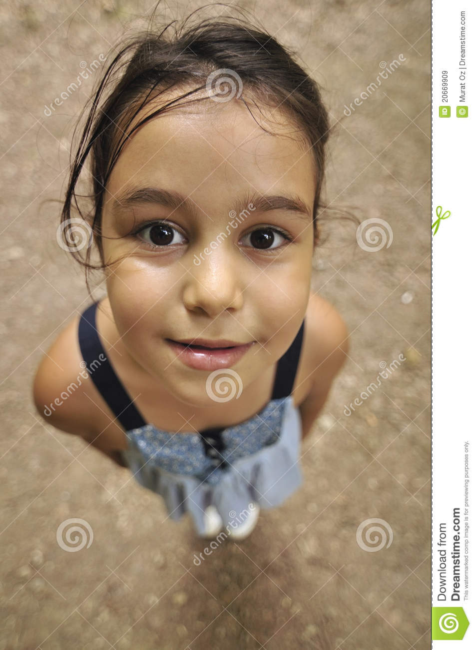 Cheerful Child (Perspective)