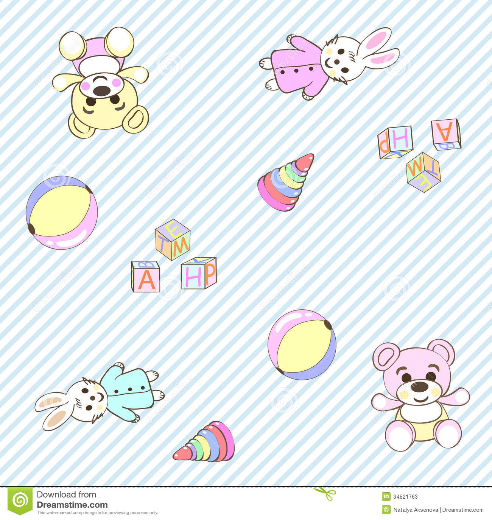 Cheerful children wallpaper illustration texture stock for Wallpaper bambini
