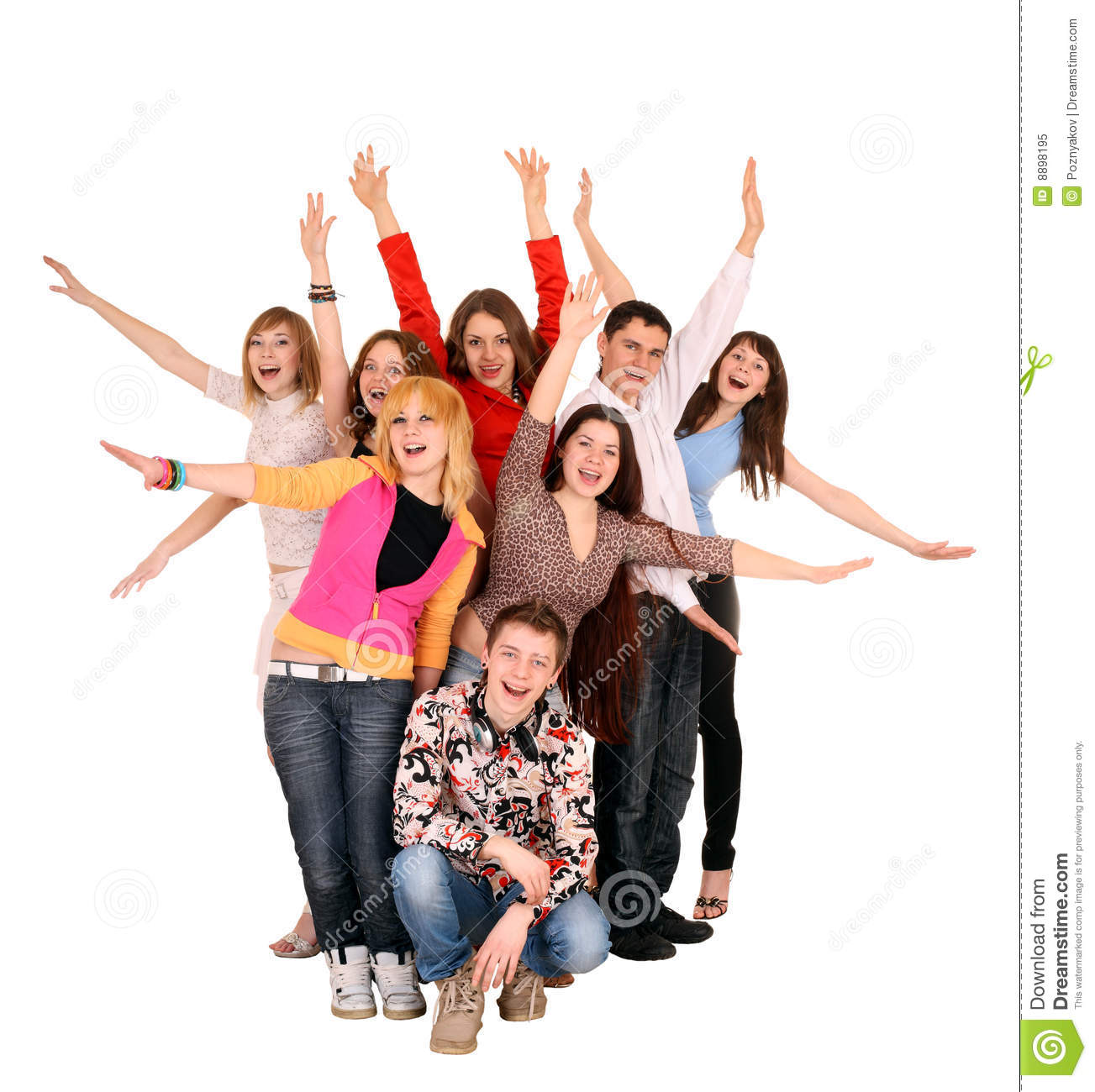 cheerful-group-young-people-     Group Of Young People