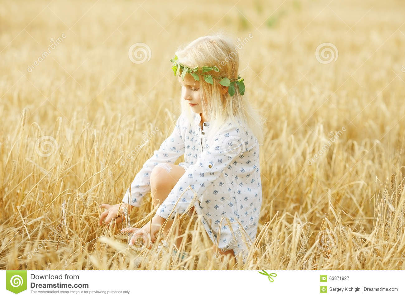 Cheerful little girl stock photo image 63871927 for Cheerful nature