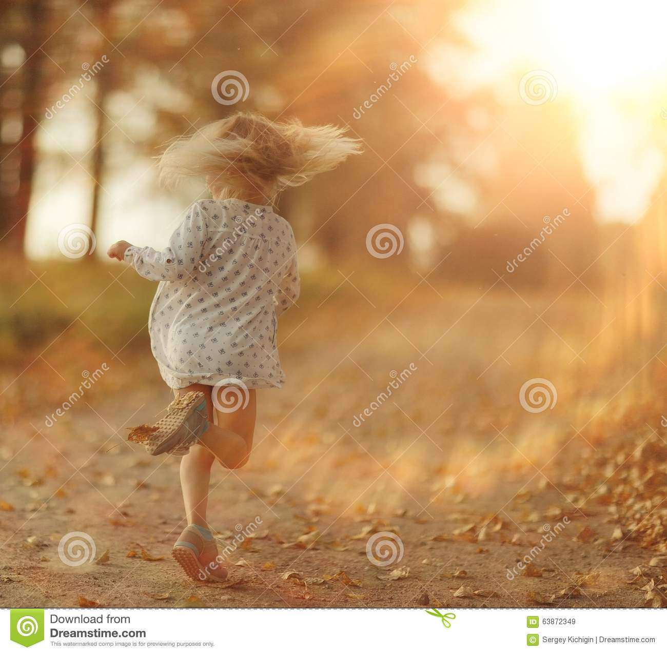 Cheerful little girl stock photo image 63872349 for Cheerful nature