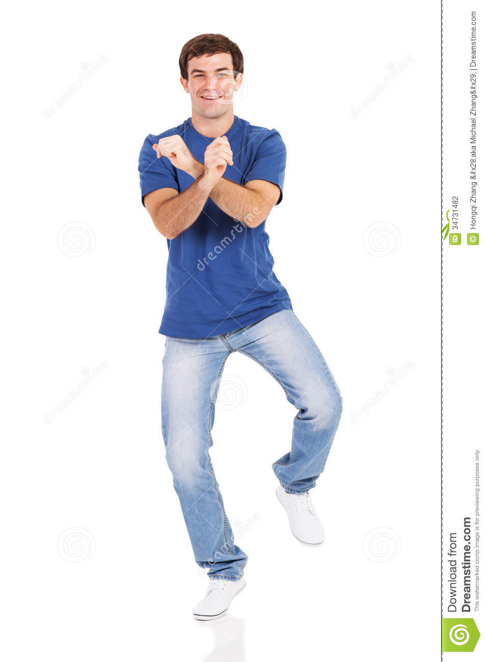 cheerful man dancing stock photography image 34731482 men and women clipart man and woman clip art free