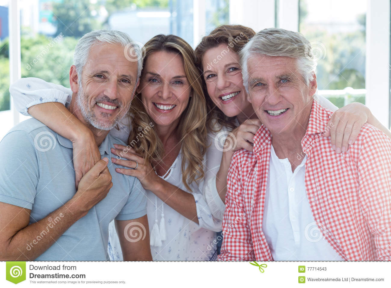 Mature adult couples