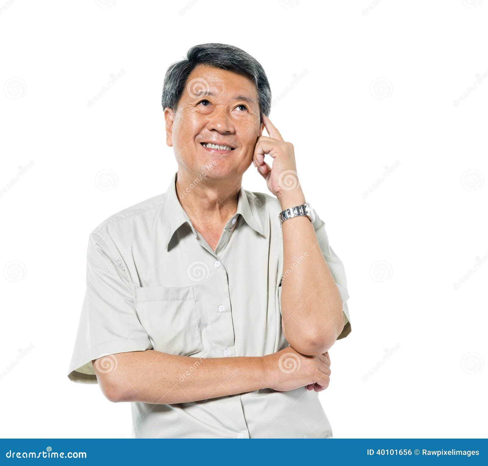 Asian Older Man 95