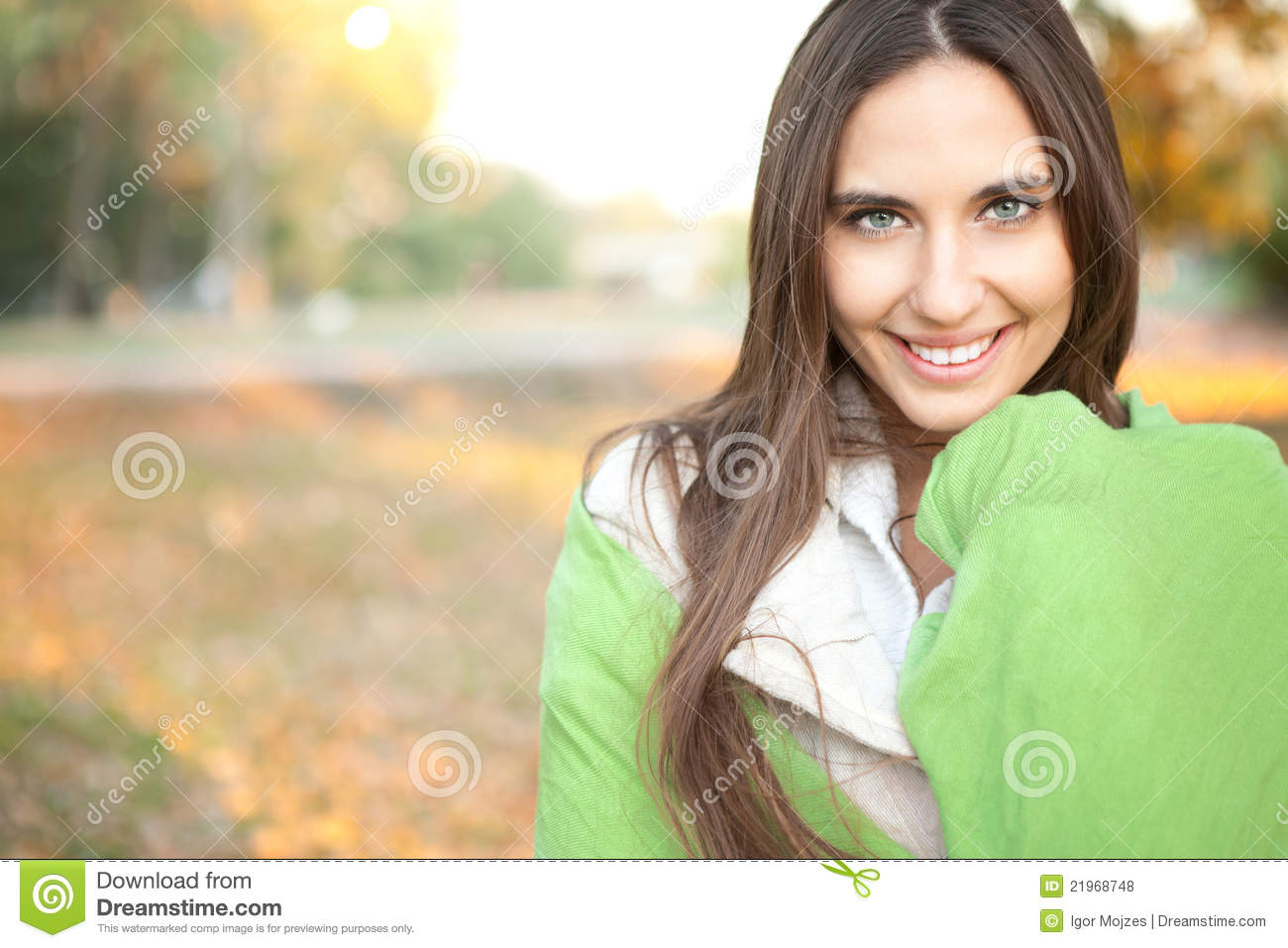 Cheerful woman in nature royalty free stock photos image for Cheerful nature