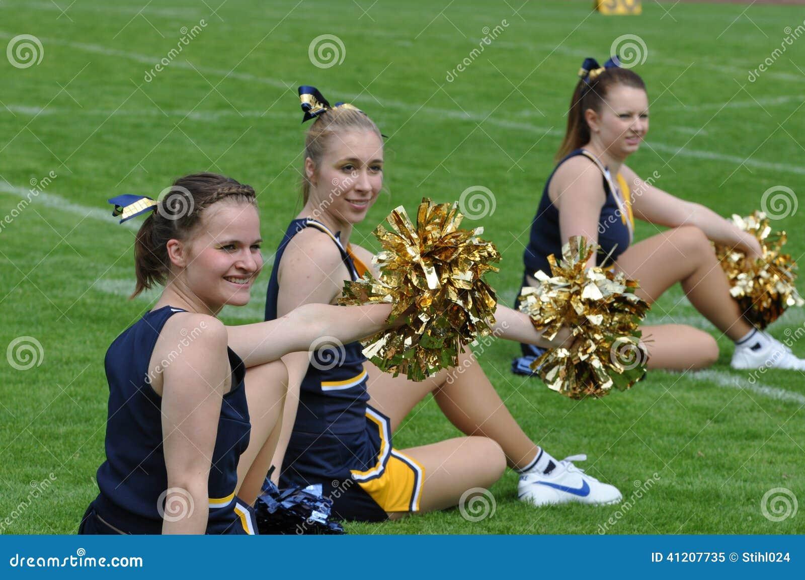 cheerleader editorial image image 41207735