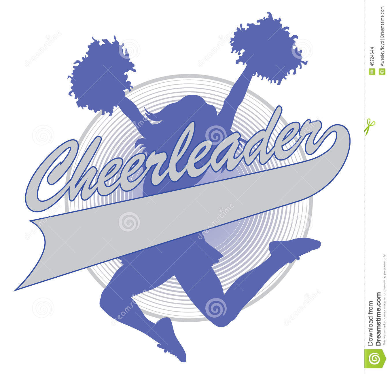 how to draw a cheerleading megaphone
