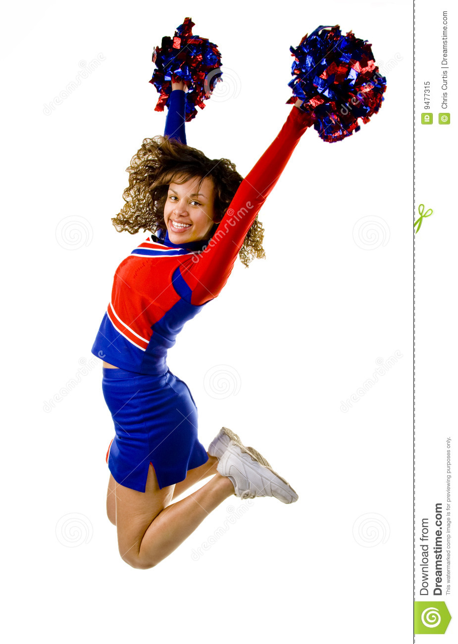 cheerleader jumping stock image image of cheer  motion cheerleader clipart free cheerleader clip art images free