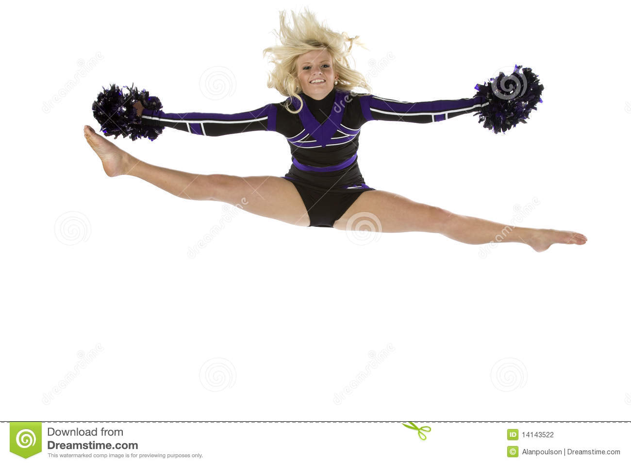 Reserve, neither Sexy cheerleader splits Such