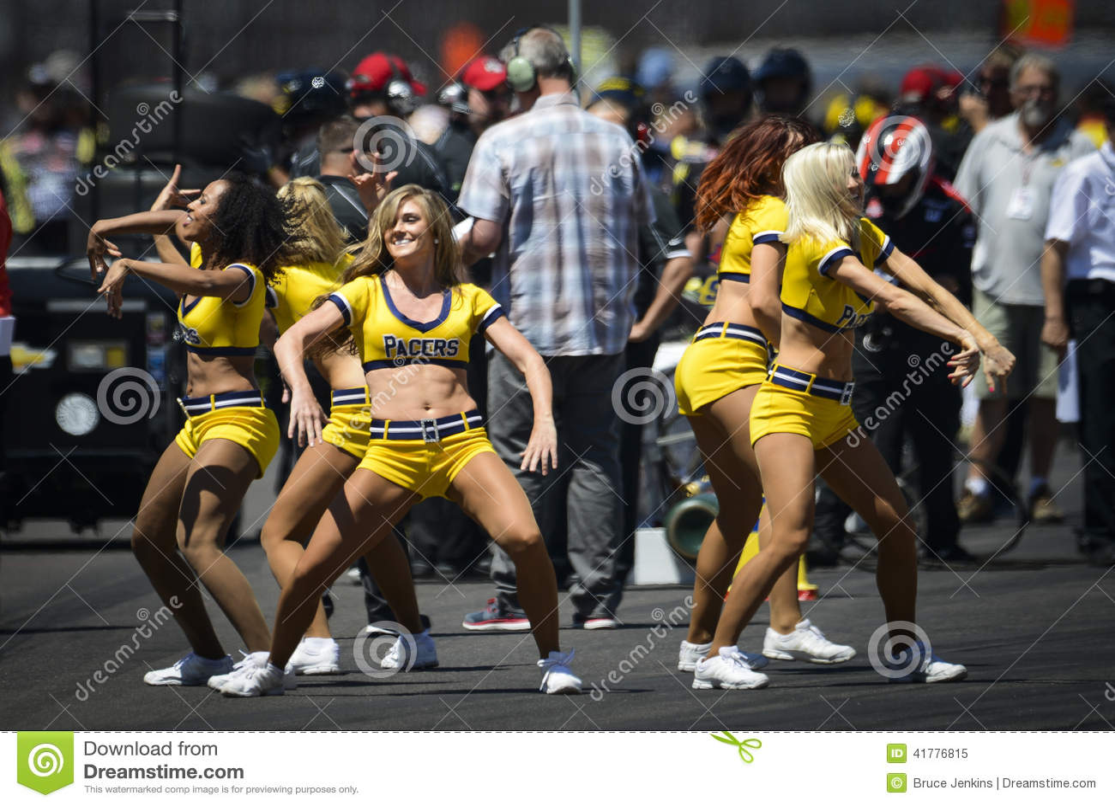 Cheerleadern im Indianapolis 500 2014