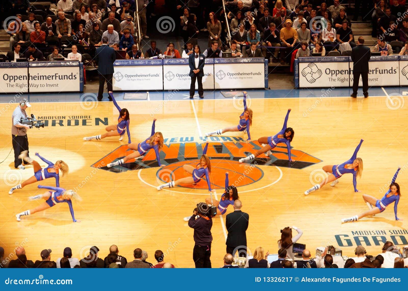 Cheerleaders Knicks