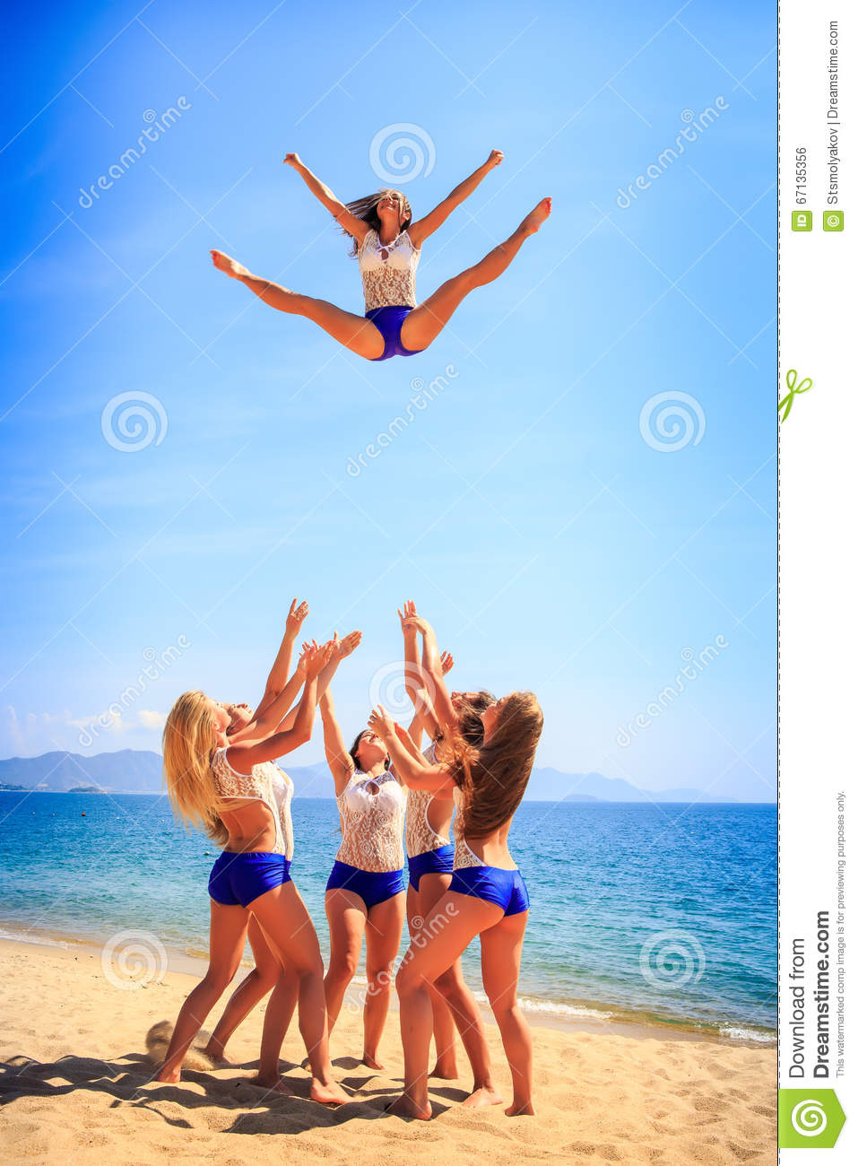 Cheerleader clipart toe touch, Picture #344768 cheerleader clipart toe touch