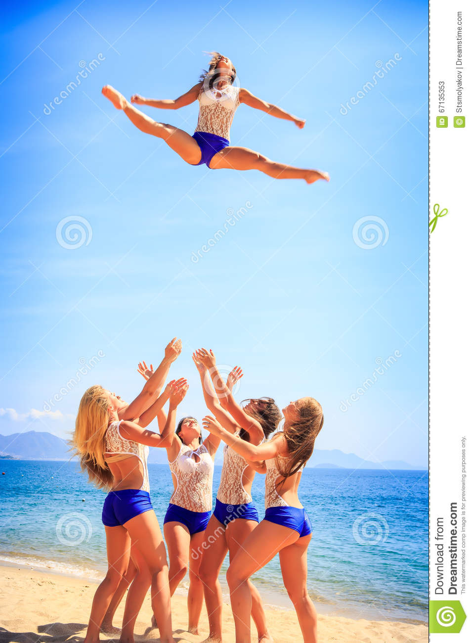 Cheerleading clipart toe touch, Cheerleading toe touch Transparent FREE for  download on WebStockReview 2020