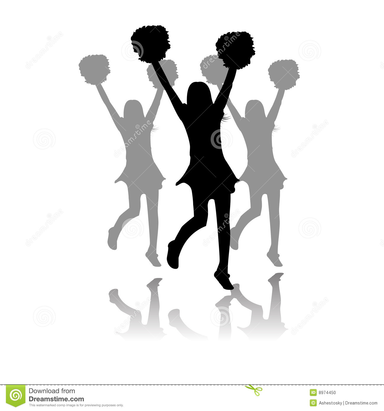 Displaying 20> Images For - Cheerleading Silhouette Clip Art...