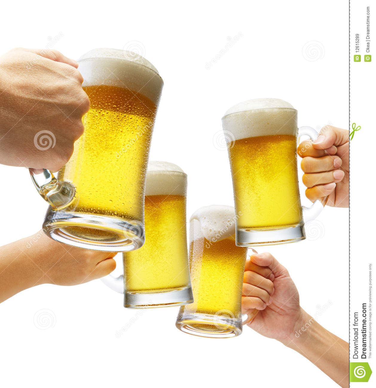 Cheers Royalty Free Stock Images - Image: 12615289