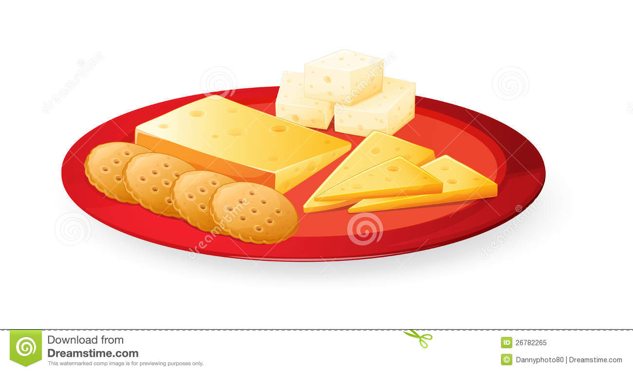 Cheese Biscuits In Plate Royalty Free Stock Photo