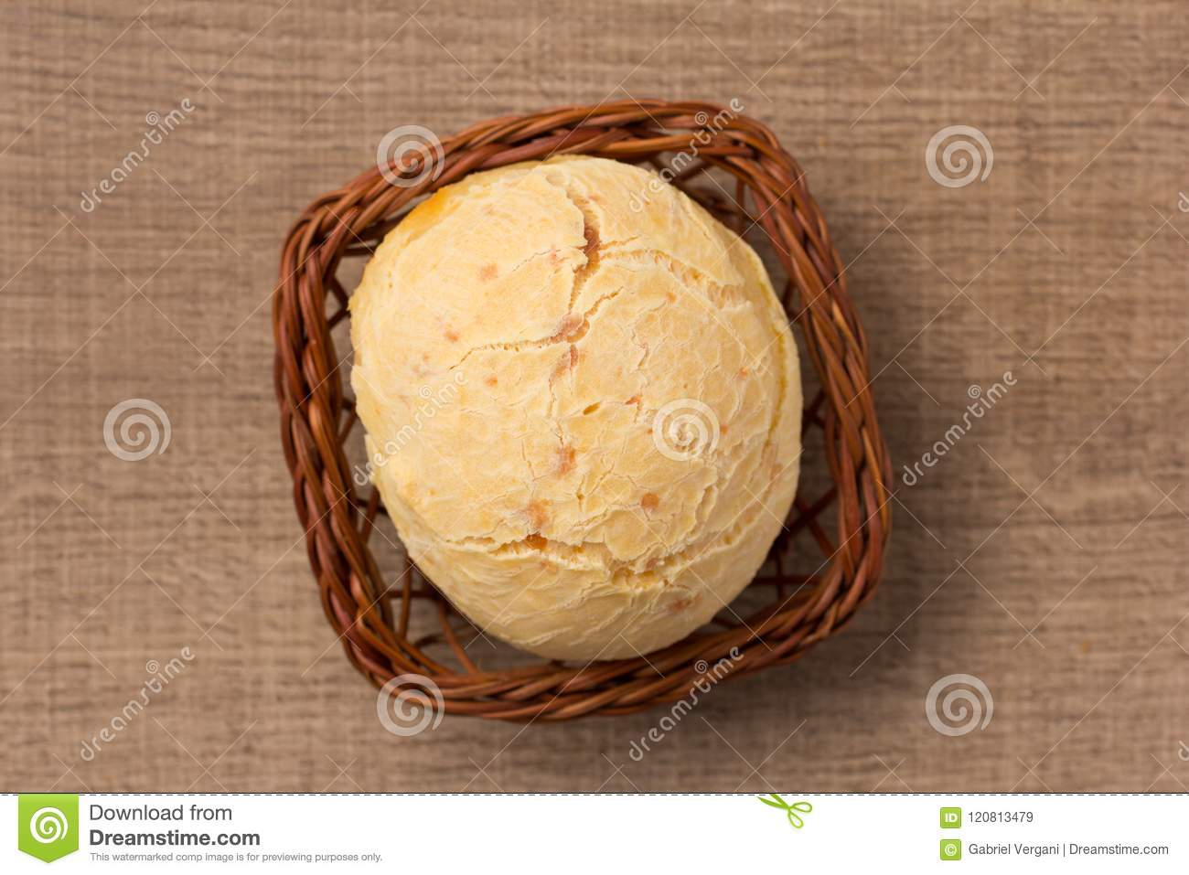 Pao de Queijo is a cheese bread ball from Brazil. Also known as