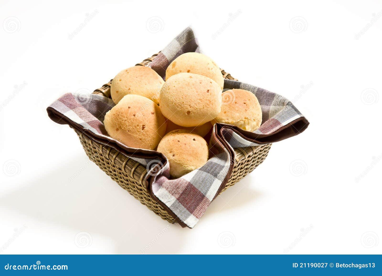 Cheese bun basket