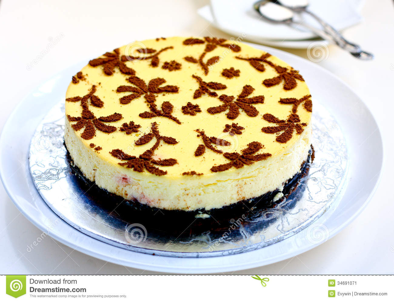 Cheese Cake Stock Image - Image: 34691071