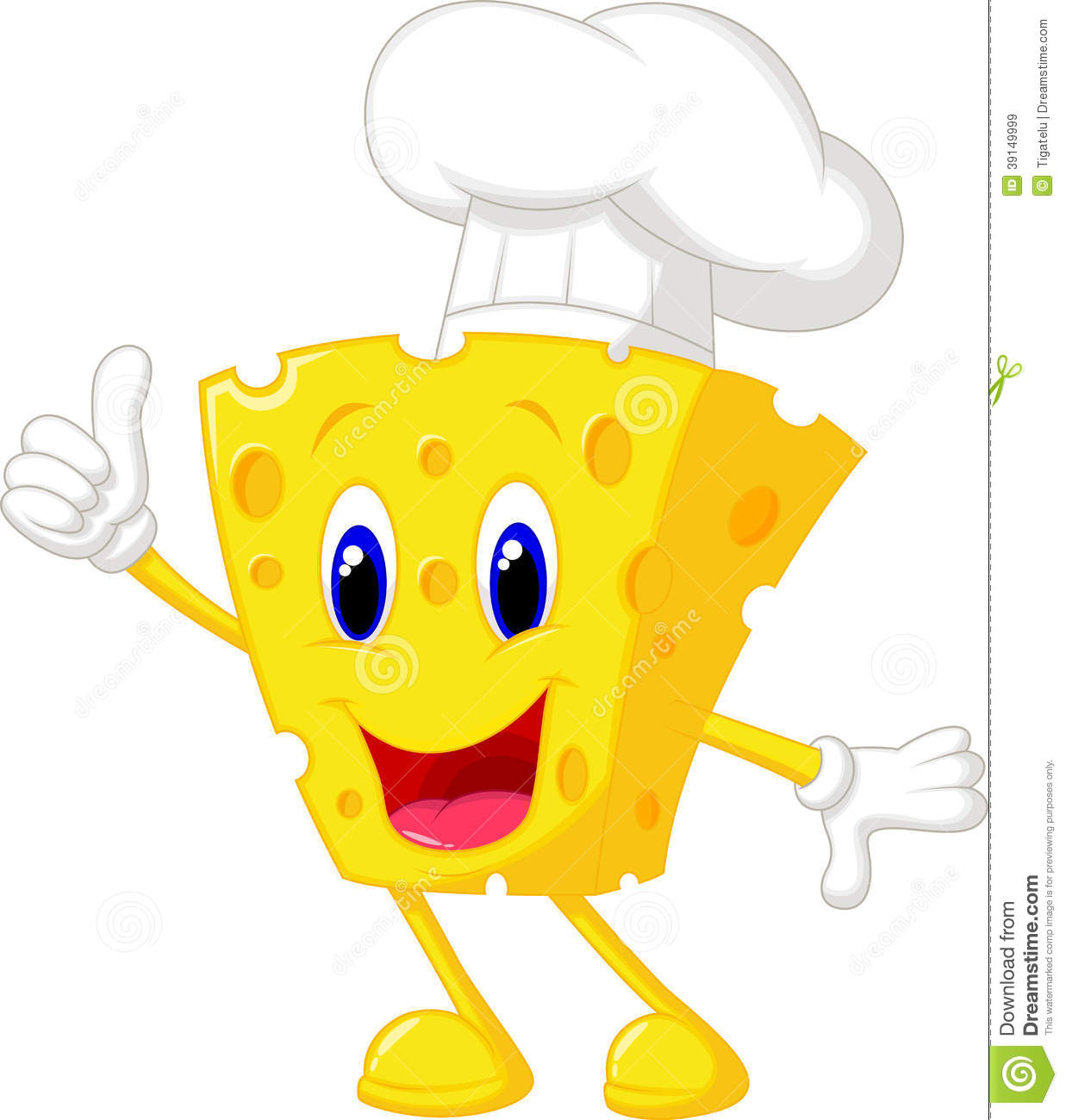 Cheese Chef Cartoon Stock Vector - Image: 39149999
