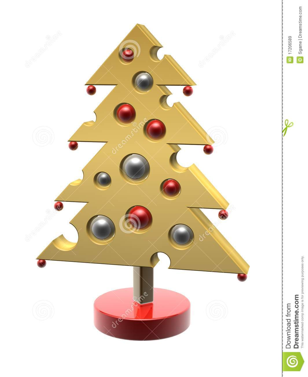 Cheese Christmas Tree Royalty Free Stock Images - Image: 17206589